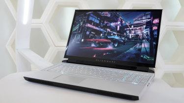 The Alienware 51m is like a desktop computer in a laptop case.