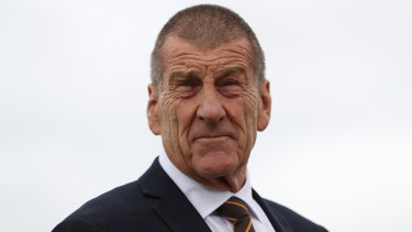 Jeff Kennett has come under fire from sections of Hawthorn's supporter base.