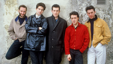 Lloyd Cole and the Commotions in 1985.