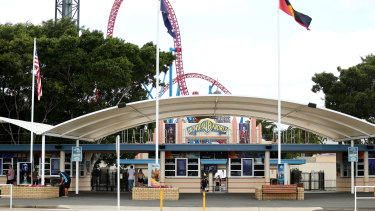 Movie World is one of the Gold Coast theme parks temporarily closing today.