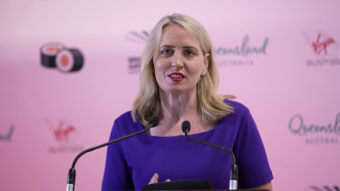 Kate Jones, Minister for Tourism and Innovation, says a decision on whether Queensland will bid to host the 2032 Olympic Games would be made by the end of the year.