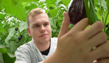 Nicholas Eglin is studying for a  Bachelor of Sustainable Agriculture at Western Sydney University.