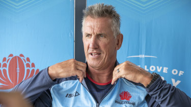 It hasn't all been smooth sailing for Rob Penney since he joined the NSW Waratahs in late 2019.