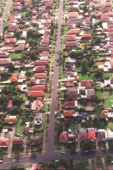 """""""How is today any different for us than yesterday or the day before that?"""" Telopea Street, Punchbowl, in 2001."""