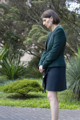 Premier Gladys Berejiklian endured an excruciating press conference in Sydney after giving evidence at the ICAC.