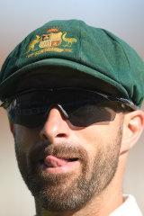 Matthew Wade of Australia.