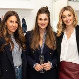 Tamie Ingham alongside Lauren Kozica and Jasmine Stefanovic.