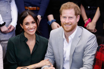 Orpah's interview with Meghan and Harry, pictured, will air in the US on March 7.
