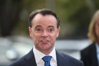 Victoria's Opposition Leader Michael O'Brien.