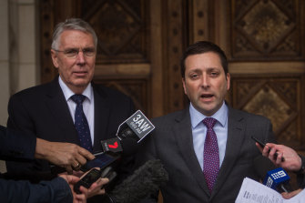 Nationals Party leader Peter Walsh and then-Liberal leader Matthew Guy had honoured a 2008 Coalition funding arrangement in the lead-up to the last election. But the election watchdog said it could break new donation laws.