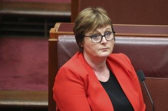 Defence Minister Linda Reynolds is on medical leave.