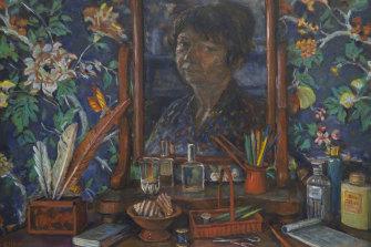 Bedroom Still life by Margaret Olley (1997).
