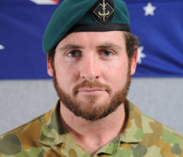 Private Scott Palmer died when a Black Hawk helicopter crashed in Afghanistan on June 22, 2010.