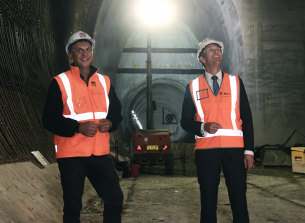 NSW Transport Minister Andrew Constance and Planning Minister Rob Stokes are pushing for a hard, fast return to construction.