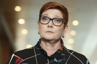 Foreign Minister Marise Payne will have the power to rip up agreements between states and foreign governments.