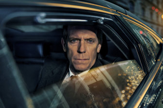 Hugh Laurie stars as Conservative politician Peter Laurence in the new four-part series.