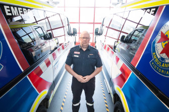 "Ambulance Victoria CEO Tony Walker says he has been ""blown away"" to hear stories from his staff about the impact of workplace maltreatment."