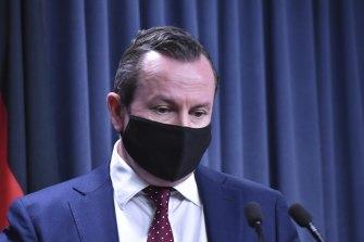 West Australian Premier Mark McGowan