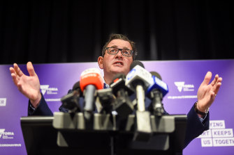 Decision time: Australia's medical experts will advise Premier Daniel Andrews what new restrictions should be introduced.