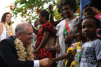 "Scott Morrison has made the Pacific ""step-up"" a hallmark of his prime ministership."