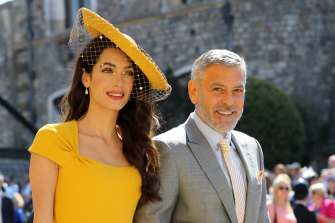 Amal Clooney changed her name when she married George.