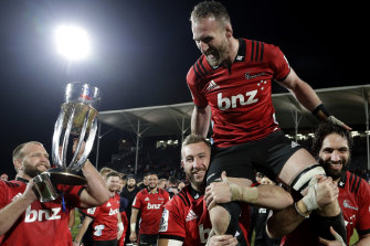 Kieran Read was farewelled by the Crusaders with yet another Super Rugby title in June, but the glory days for rugby's broadcasting rights deals may be over.