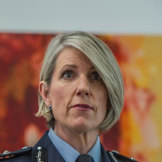 ACT's Chief policing officer Justine Saunders.