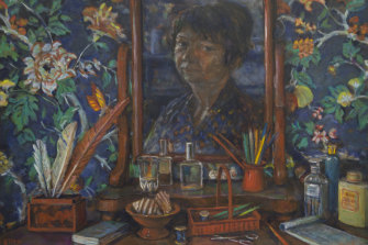 Bedroom Still life by Margaret Olley (1997).