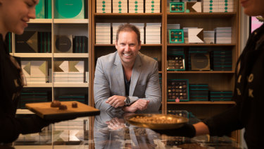 Koko Black owner Simon Crowe has been on a mission to turn around the luxury chocolate chain.