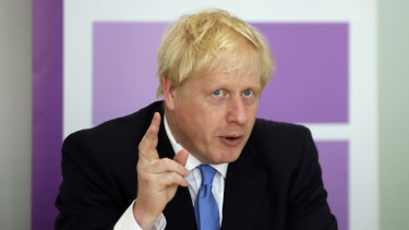 Boris Johnson discussed the issue with Scott Morrison in a phone call.