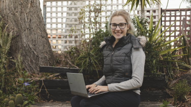 Jana Prencel said she's experienced faster internet speeds since moving from Sydney to Canberra.