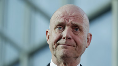 Senator David Leyonhjelm championed the cause of messed up men.
