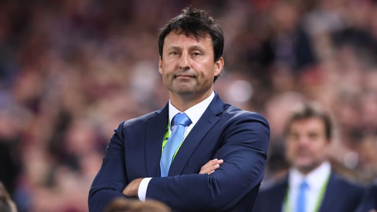 Mystified: Laurie Daley didn't cop this much stick when he was the losing coach.