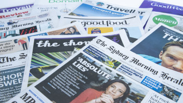 The Sydney Morning Herald has the largest readership in Australia.