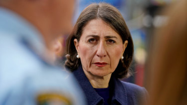 """It's the right thing for Sydney"": NSW Premier Gladys Berejiklian."