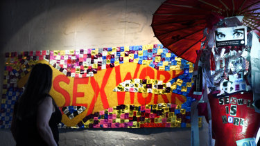 An art exhibition by Victorian sex workers highlights International Sex Worker Rights Day.