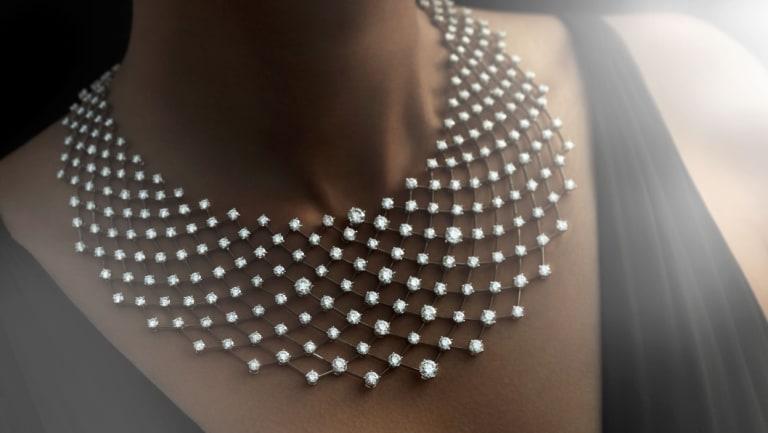 A Nirav Modi Constellation Necklace.