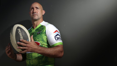 Raiders legend Jason Croker will walk the water for the Pie in the Sky charity game.