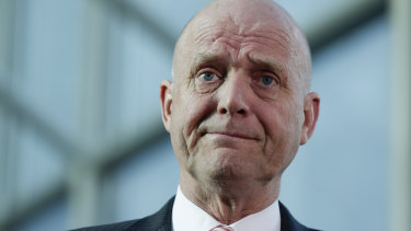 Senator David Leyonhjelm has introduced laws to allow assisted dying.