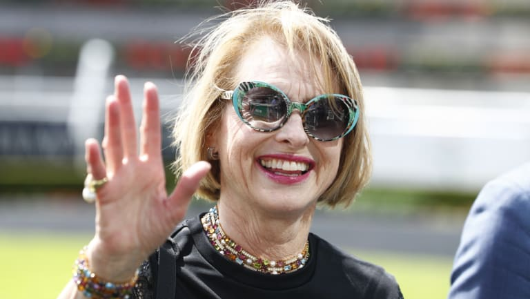 Up-and-comer: Top trainer Gai Waterhouse is determined to get the most out of Hush Writer.