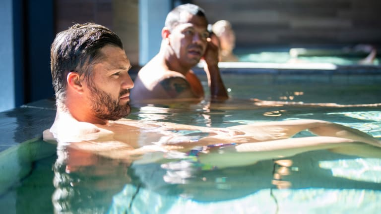 'Not here for a holiday': Ashley-Cooper contemplates the job ahead in Odawara, Japan.
