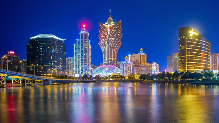 Shares in several Macau casino companies fell more than 15% in September.