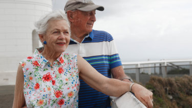 Wendy and Bob Levett are leaving Byron Bay for Sydney after a 56-year association with the once sleep seaside town.