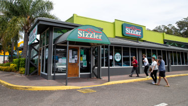 The chief executive of Collins Foods says there are no regrets about the closure of Sizzler.