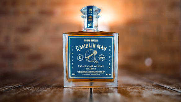 Ramblin Man whisky.