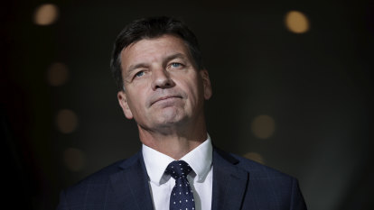 Police couldn't prove Angus Taylor's office downloaded document