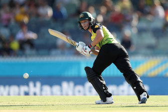 Captain Meg Lanning hit 41 for the Australians in their win over Sri Lanka.