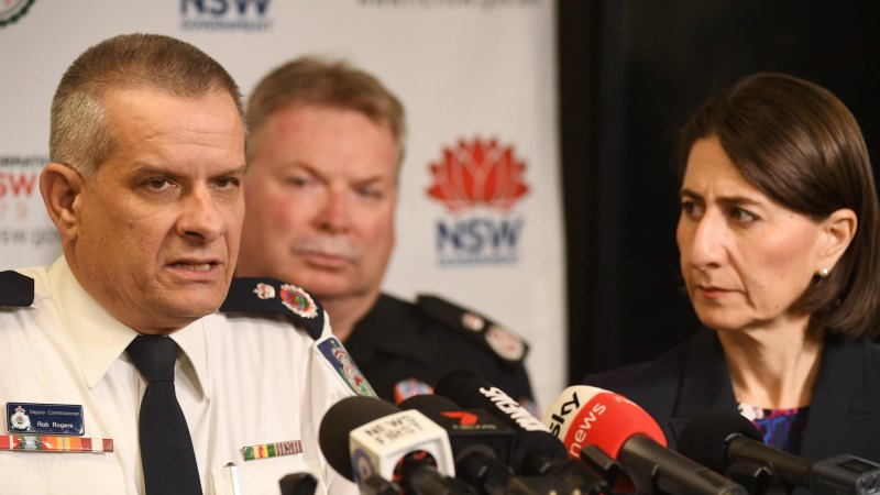 Rob Rogers secures RFS chief's role after 'exemplary service' – Sydney Morning Herald