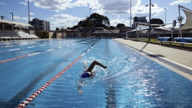 Granville Swimming Centre will reopen on Monday.