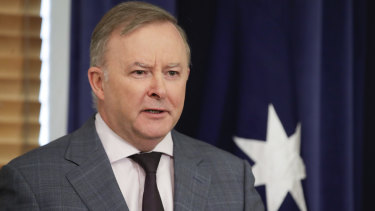 Opposition Leader Anthony Albanese